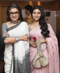 Mother and Daughter - Aparna and Konkona Sen
