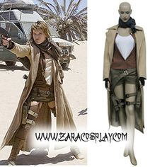 Resident Evil Extinction Alice Cosplay Halloween Costume