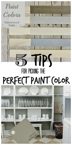 5 Tips for Picking the Perfect Paint Color, these colors are Sherwin Williams and great adice on picking paint colors. Interior Paint Colors, Paint Colors For Home, Interior Design, Home Renovation, Wall Colors, House Colors, My Living Room, House Painting, Home Accents