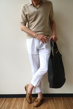 Casual Home Decor, Formal Men Outfit, Well Dressed Men, White Outfits, Refashion, Mens Fashion, Fashion Trends, What To Wear, Menswear