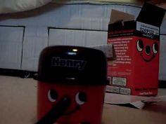 Desktop henry hoover unboxing.