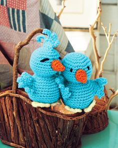 Birds of a feather free amigurumi pattern