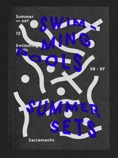 book design // source: maxime-tetard.  Pools ©les graphiquants