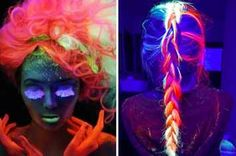 Glow-In-The-Dark Hair Is Gonna Be Your New Beauty Obsession