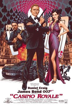 Casino Royale poster commission by comics artist Chris Weston Казино рояль выиграть #poяль