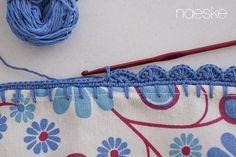 Mantel con puntillas crochet ganchillo granny square