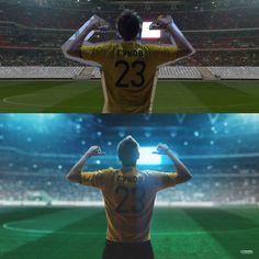До и после - фотошоп - Photoshop