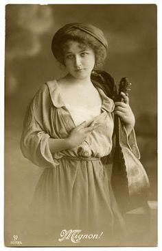 Old Photo - Gypsy Woman