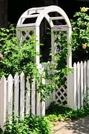 Image result for garden arch painted