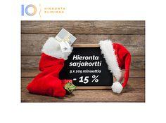 Joulukalenterin 5. luukku   Hieronta Leppävaara   Hieronta IO-Klinikka