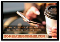 Do you only have a smartphone but would like to work from home? If so you are not alone because there are a lot of people that only have a table iPad, andro