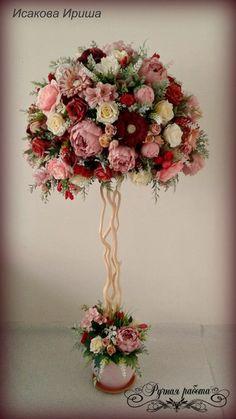 Wedding topiary idea