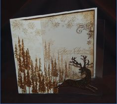 Christmas card by Swanstitch