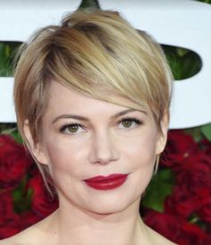 Michelle Williams Tony Awards 2016 - and her fabulous short hair is back!