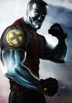 Colossus by Yvan Quinet #XMen #Mutants