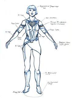 Quorra CostumeDesign
