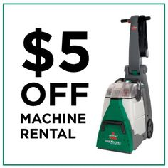 carpet cleaner rental coupon special offers from bissell rental