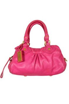 Marc By Marc Jacobs - Classic Q Baby Groovee Fuchsia Leather Bag