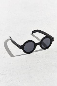 65e247c4d6 Slide View  1  Chunky Plastic True Round Sunglasses Round Sunglasses