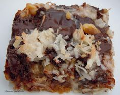 Low carb Magic Cookie Bars -- I've GOT to try these!!