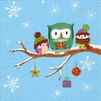 2228 Servilleta decorada Navidad
