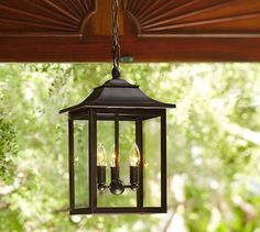 Classic Indoor/Outdoor Pendant Good lantern for over the outdoor table Porch Pendant Light, Porch Light Fixtures, Outdoor Pendant Lighting, Hanging Light Fixtures, Pergola Lighting, Entry Lighting, Barn Lighting, Exterior Lighting, Hanging Porch Lights