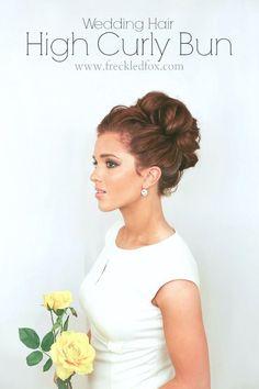 Peinados de novia recogidos altos para el 2015.