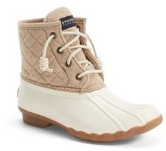 Sperry 'Saltwater' Waterproof Rain Boot (Women) (Nordstrom Exclusive)