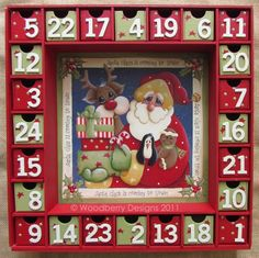 I love advent calendars!!!