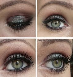 MAC Blue Brown Pigment - a great color for soft summers with green eyes