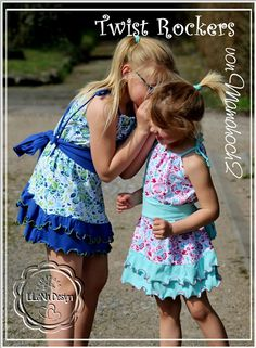 Twist Rockers Sommerkleid Tutorial