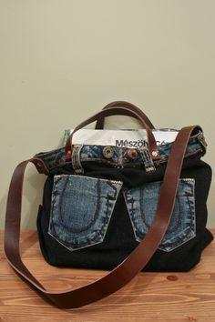 Denim Messenger Bag - Berkeley Workshop