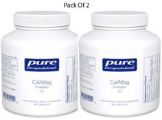 Pure-Encapsulations-Cal-Mag-malate-2-1-180-VegCapsules-2-PACK-Exp-2-18-SD