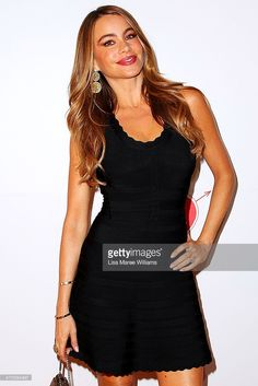 Sofa Vergara arrives at the Modern Family Media Call at The Sebel on February 20, 2014 in Sydney, Australia. The cast from the popular television program are in Australia filming their Australian vacation episode.
