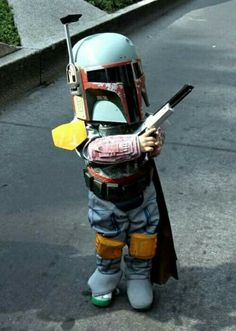 Cutest Mandalorian EVER!!