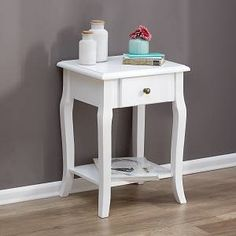 Milk Paint, Style Vintage, My Room, Wood Crafts, Painted Furniture, Nightstand, Sweet Home, Room Decor, Projects