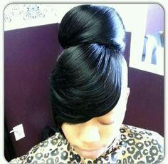 weave ponytail with bangs - Google Search