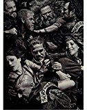 Get This Special Offer #10: Sons of Anarchy Group Charlie Hunnam Katey Sagal Tommy Flanagan All Fighting 8 x 10 Photo