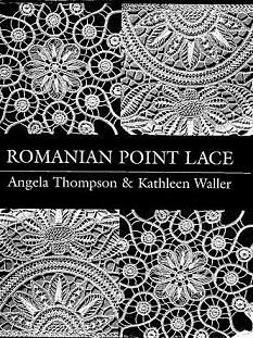 Romanian Point Lace - a combination of crocheted cords/braids/ribbons and needlelace/needleweaving.