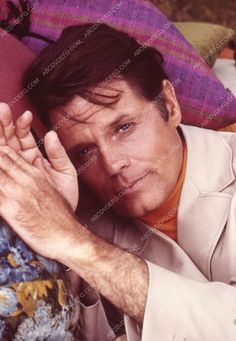 Photo handsome Jack Lord portrait TV Hawaii 5-O 35m-4756