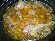 Hühnersuppe aus dem Slow Cooker, ein leckeres Rezept aus der Kategorie Gemüse. Bewertungen: 3. Durchschnitt: Ø 4,0.