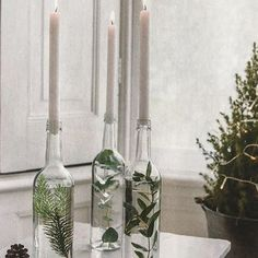 Some Christmas prep inspiration, we love this idea - so simple and so festive ✨ #ruedeseineloves #christmas via:#elleuk
