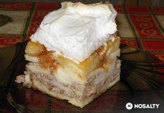 Vaníliás máglyarakás kalácsból Food And Drink, Dairy, Pie, Cooking Recipes, Cheese, Snacks, Cookies, Baking, Drinks