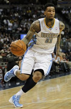 NBA forward Wilson Chandler is from my hometown he inspired me to play basketball.