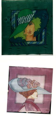 zijdensjaals, 90x90cm