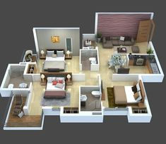 How To Quickly And Easily Create A Living Room Furniture Layout? Sims House Plans, House Layout Plans, Modern House Plans, Small House Plans, House Floor Plans, House Layouts, Home Design Floor Plans, Home Building Design, Plan Design