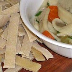 Pioneer Cut Dumplings from the 1800's