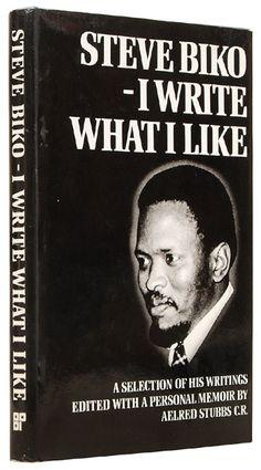 Bantu Steve Biko, l'homme et la pensée Black History Books, Black History Facts, Black Books, I Love Books, Good Books, Books To Read, My Books, African American Books, African Literature