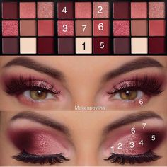 16 Natural Eye Makeup Tutorial For Beginners To Make You Amazing ! - - 16 Natural Eye Makeup Tutorial For Beginners To Make You Amazing ! – – … Eyeshadow Looks 16 Natural Eye Makeup Tutorial For Beginners To Make You Amazing ! Prom Eye Makeup, Eye Makeup Steps, Natural Eye Makeup, Pageant Makeup, Pink Smokey Eye, Huda Beauty Eyeshadow, Huda Beauty Makeup, Huda Beauty Palette Dupe, Eye Makeup Tutorials