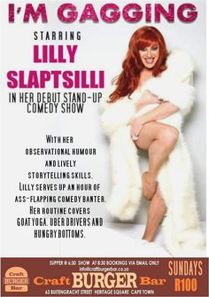 Stand Up Comedy Shows, Craft Burger, Live Comedy, Burger Bar, Humor